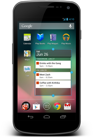 Android 4.1 Jelly Bean – fast interface, first review