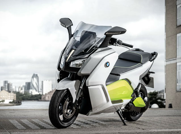 BMW C Evolution scooter