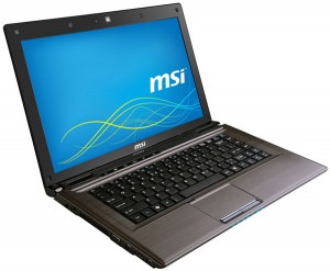 MSI CR41 notebook laptop