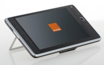 Orange Tahiti tablet