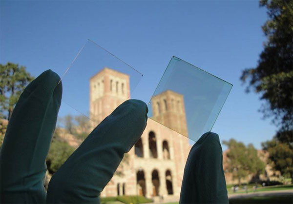 transparent solar cell