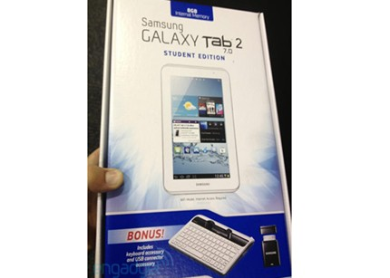 Galaxy Tab 2 7.0 Student Edition