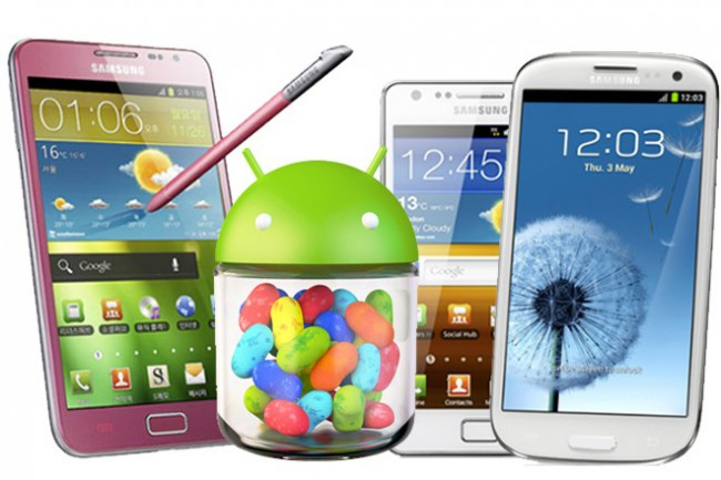 Jelly Bean update for Samsung Smartphones