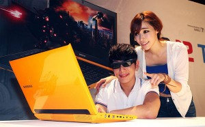 Yellow 3D Gamer