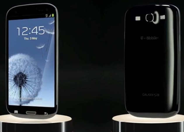 T-Mobile Galaxy S III black