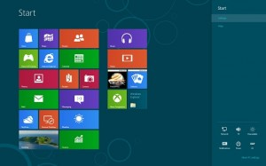 Windows 8 Operating System Metro Style
