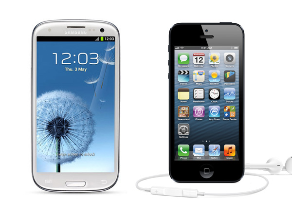 Apple iPhone 5 Vs Samsung Galaxy SIII: A complete comparison