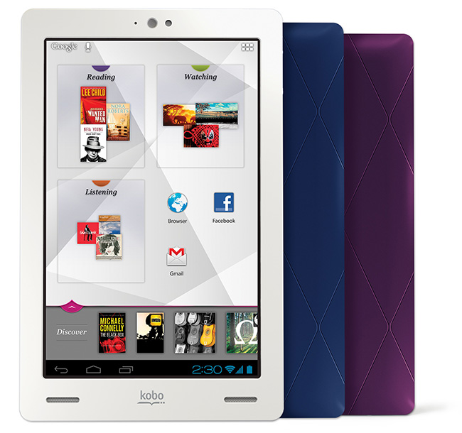 Kobo change the characteristics of its new kobo arc tablet for Housse kobo arc 7