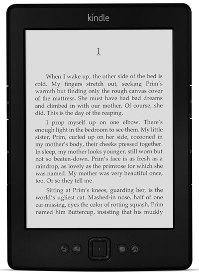 New Amazon Kindle reader