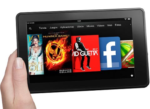 New Kindle Fire Tab