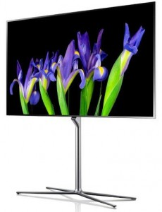 Samsung ES9500 OLED TV and Samsung ES9000 LED TV