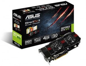 ASUS GeForce GTX 670 4GB