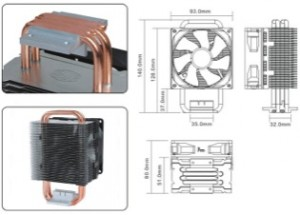 Coolermaster Blizzard T4 CPU coolers