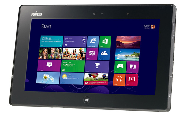 Fujitsu Stylistic Q572 AMD platform tablet with Windows 8: Specs & Features