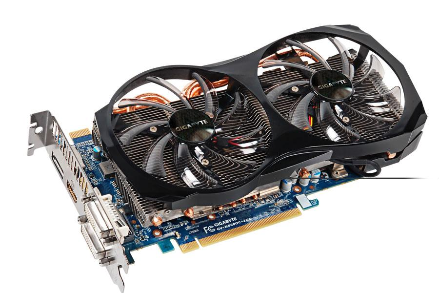 Gigabyte GV-N660OC-2GD GeForce GTX 660