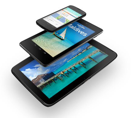 Google Nexus 10 and updated the Nexus 7: Specs & Features
