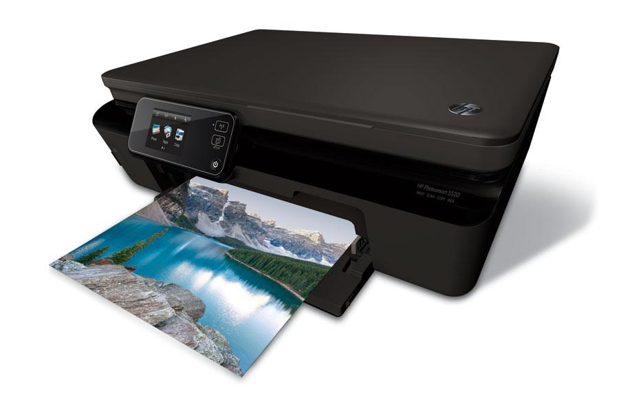 HP PhotoSmart 5520 EAiO With New Multifunction Wi Fi And