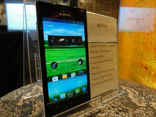 Huawei Ascend P1 reached to the market: Specs & Features