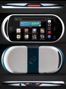 MG gaming console
