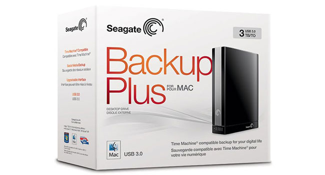 Seagate Backup Plus Portable for Mac and Desktop for Mac