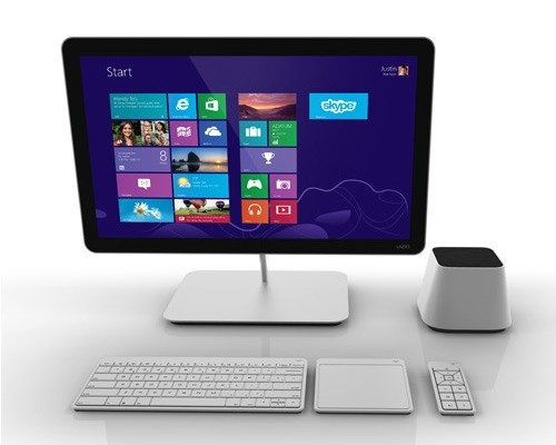Vizio all in one pc with windows 8 specs features for Latest windows for pc