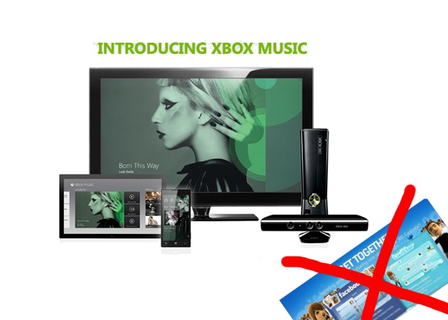 Microsoft deletes Twitter and Facebook on Xbox 360 with the arrival of Xbox Music  sc 1 st  Techjailbreak & Gaming Console u2013 Page 3