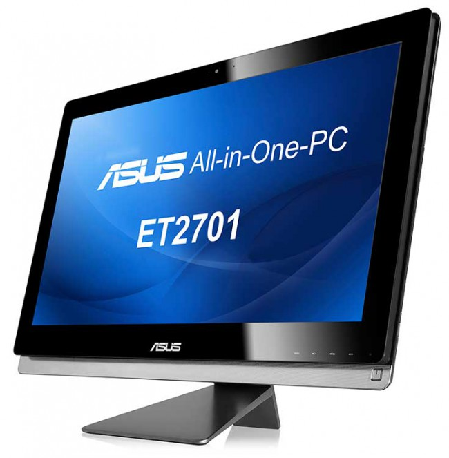 ASUS ET2701 27inches AiO with VA-touch display and Windows 8: Specs & Features