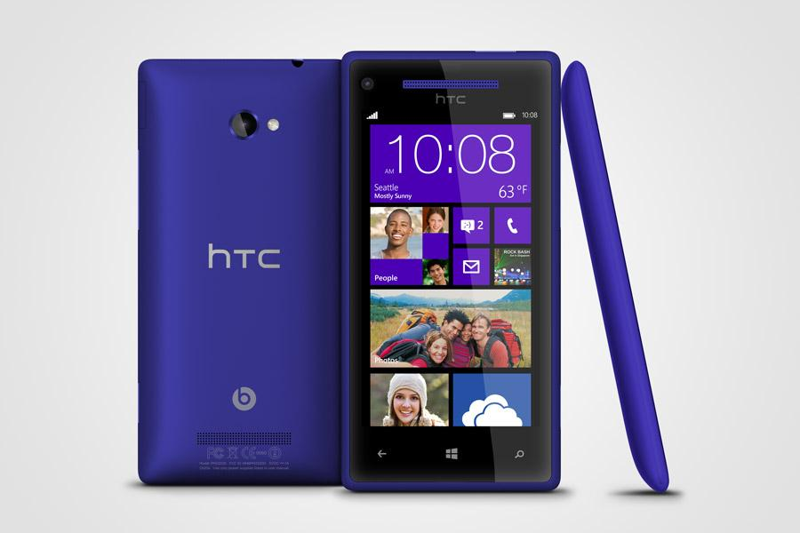 HTC Windows Phone 8X convinces with its effectiveness: Review & Specs