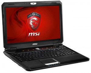 MSI GX60 gaming laptop running on Windows 8 and quad-core AMD: Specs & Features