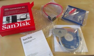 SanDisk SSD Conversion Kit