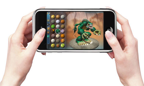 iPhone gaming apps