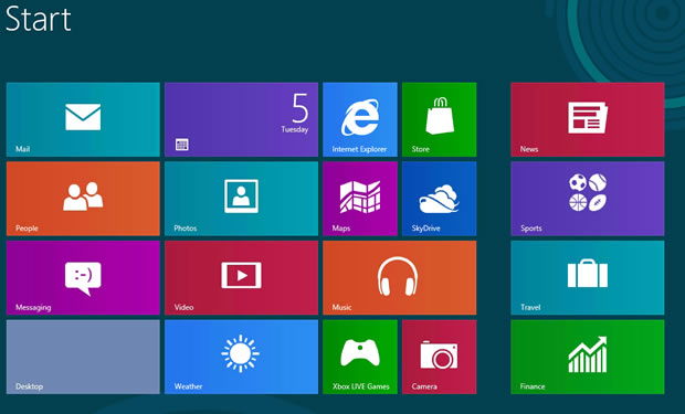 Full list of keyboard shortcuts for Windows 8