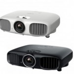 Epson EH-TW6100 Projector in Black and White colors