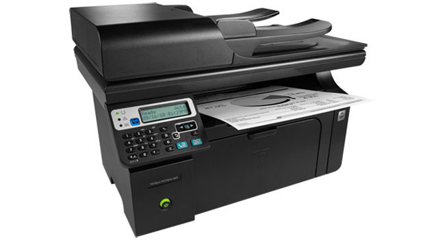 HP Hotspot LaserJet Pro M1218nfs laser MFP laser with Wi-Fi: Specs & Features