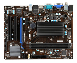 MSI-C847MS-E33 Motherboard Top View (source:milestone-net.co.jp)