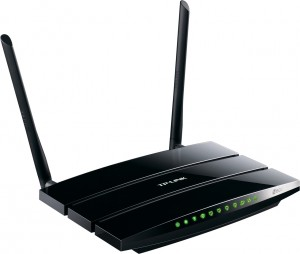 TL-WDR3500 N600 Wireless Dual Band Router Top VIew