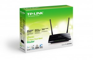 TL-WDR3500 N600 Wireless Dual Band Router Box