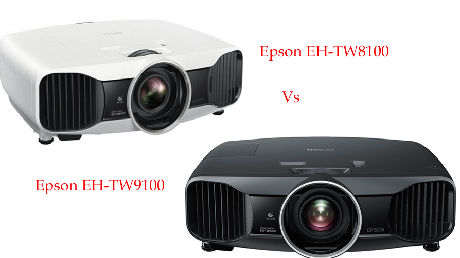 Epson EH-TW8100 vs EH-TW9100 specs and features comparison to make purchase decision