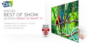 New LG OLED TV - 55 inches