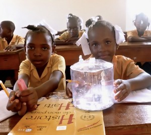 Solar Powered Lamp Luci in Haiti