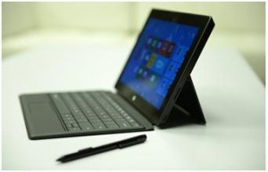 Microsoft Surface Pro with active Pen ( Source: Microsoft)