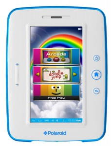 Polaroid kids tablet with Android 4.0