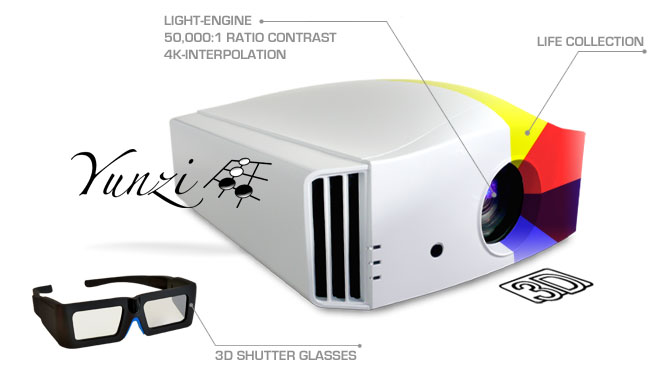 DreamVision yunzi1 3d projector