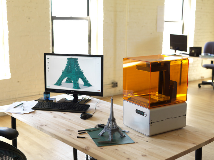 Production of Formlabs Form 1 3D Printer to Start Soon