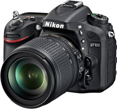 24.1MP DSLR from Nikon – D7100 : features and specs