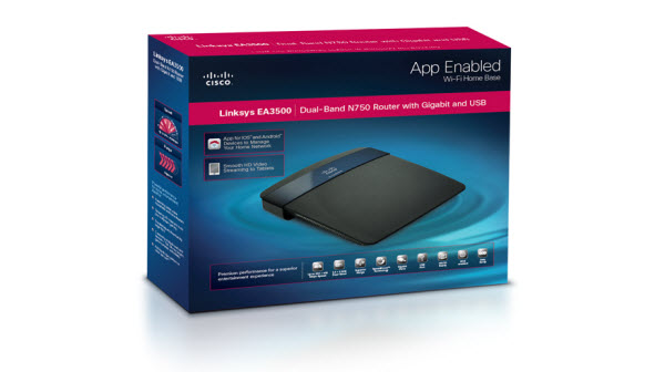 Cisco EA3500 : App enabled router with great throughput