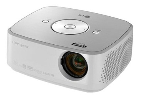 Lg s hx301g led portable projector costing 699 for office for Portable projector reviews
