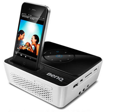 BenQ Joybee GP2 Ultra Portable Mini Projector Specs and Review