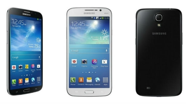 Samsung Galaxy Mega 6.3- and 5.8-inch sizes launched