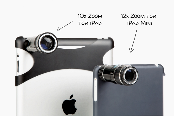 Telephoto Lens for iPad Mini: Photojojo's 12x optical zoom